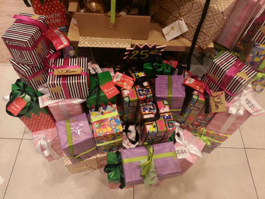 Les cadeaux seront mis en valeur par une belle décoration
