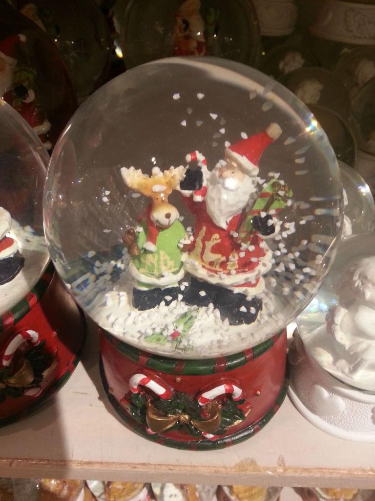 Le magie de Noël est également dans les objets