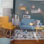 Les catalogues de mobiliers ont également adopté le style scandinave.