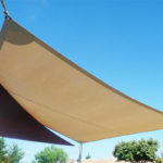 voiles ombrage sable